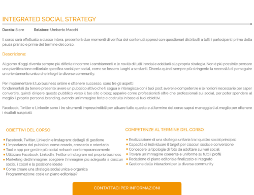 INTEGRATED SOCIAL STRATEGY