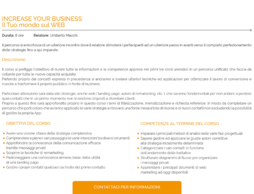 INCREASE YOUR BUSINESS
